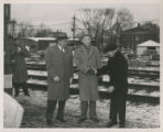 Mayor Baals - Center; Others Unknown (December 15, 1953).